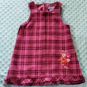 Children's Place 24Mos Pink Plaid Dress
